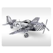 Air Force Mustang P-51 Aircraft Metal Earth Model Kit