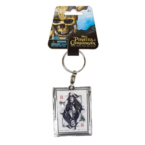 Pirates of the Caribbean: Dead Men Tell No Tales Barbosa Acrylic Key Chain