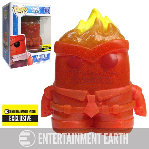 Inside Out Crystal Anger Pop! Vinyl Figure - Entertainment Earth Exclusive