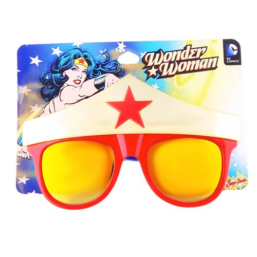 Wonder Woman Crown Sun-Staches