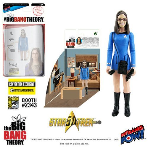 The Big Bang Theory / Star Trek: The Original Series Amy Fowler 3 3/4-Inch Action Figure Series 2 - Convention Exclusive