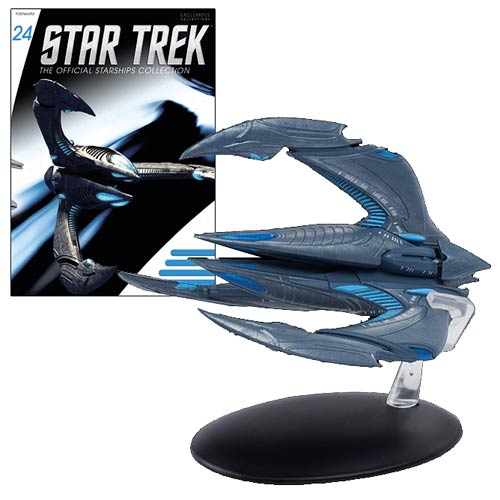 Star Trek Starships Xindi-Insectoid Vehicle with Collector Magazine