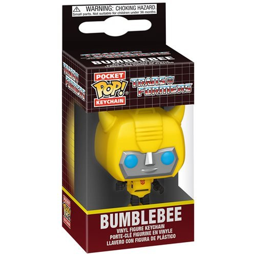 Transformers Bumblebee Pocket Pop! Key Chain
