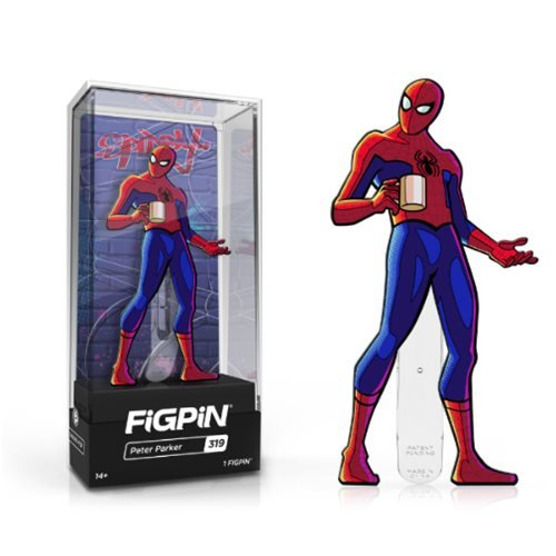 Spider-Man: Into the Spider-Verse Peter Parker FiGPiN Enamel Pin