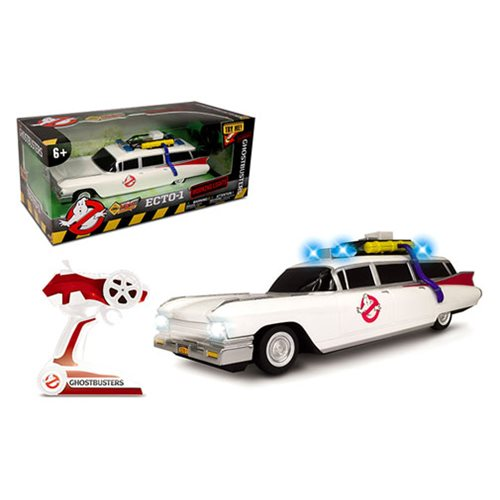 Ghostbusters Ecto-1 Classic with Lights and Sounds RC Vehicle