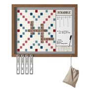 Scrabble Deluxe 2-in-1 Vintage Wall Edition Game