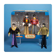 Beatles Yellow Submarine Fab Four 4-Pack Ornaments