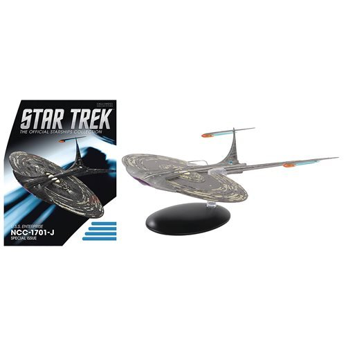 Star Trek Starships Enterprise-J with Collector Magazine