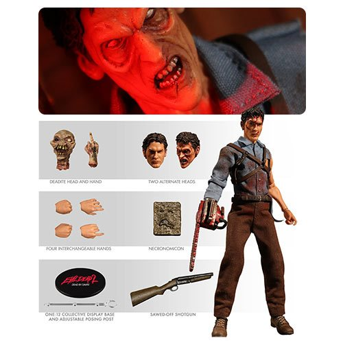 Evil Dead 2 Ash One:12 Collective Action Figure