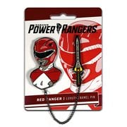 Mighty Morphin Power Rangers Red Ranger Lapel Pin Set