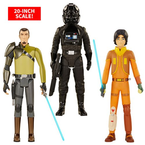 Star Wars Rebels 20-Inch Wave 1 Action Figure Case
