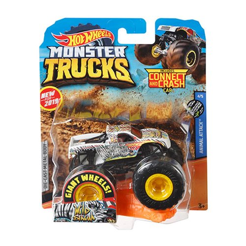 Hot Wheels Monster Trucks 1:64 Scale Vehicle Mix 11 Case