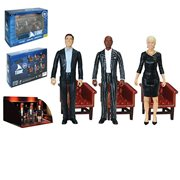 Shark Tank Mark Cuban, Daymond John, Barbara Corcoran 3 3/4-Inch Action Figure Set of 3 - Convention Exclusive