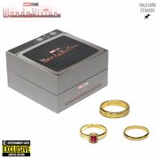 WandaVision Wedding Rings Prop Replica 3-Piece Set  - Entertainment Earth Exclusive