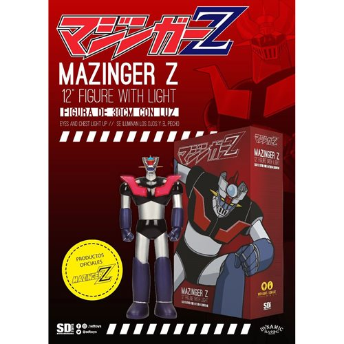 Mazinger Z 12-Inch Figure with Light