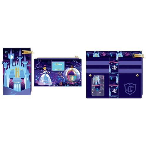 Cinderella Castle Series Flap Wallet
