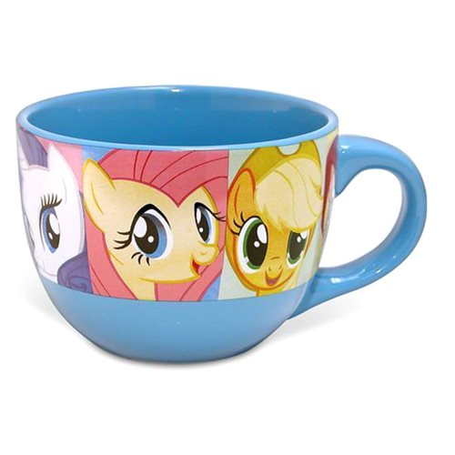 My Little Pony: Friendship Is Magic Grid 24 oz. Ceramic Soup Mug