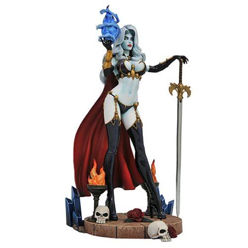 Картинки по запросу Femme Fatales PVC Statue - Lady Death