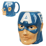 Captain America Marvel Molded 16 oz. Mug