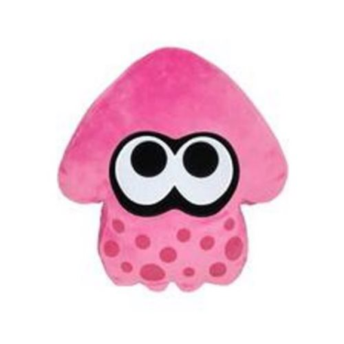 Splatoon Pink Squid Pillow Plush