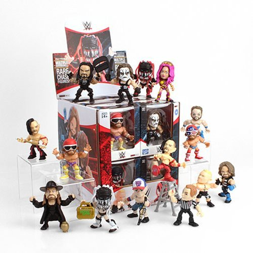 WWE Action Vinyls Wave 1 Random 4-Pack