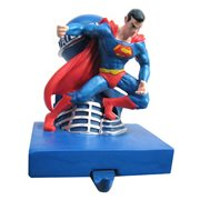 Superman Animated 5-Inch Resin Stocking Holder