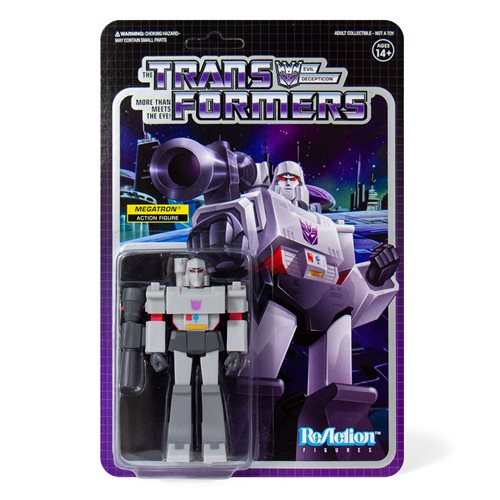 Transformers Megatron 3 3/4-Inch ReAction Figure