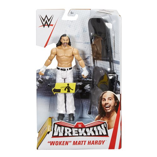 "WWE Wrekkin' ""Woken"" Matt Hardy Action Figure"