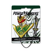 Mighty Morphin Power Rangers Lord Drakkon Lapel Pin Set
