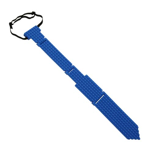 Bricky Blocks Blue Neck Tie