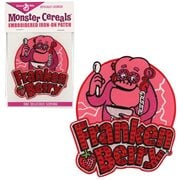 General Mills Franken Berry Embroidered Iron-On Patch