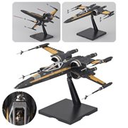 Star Wars: The Last Jedi Poe Dameron's Boosted X-Wing 1:72 Scale Model Kit