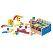 Mini Tool Bench Wooden Playset