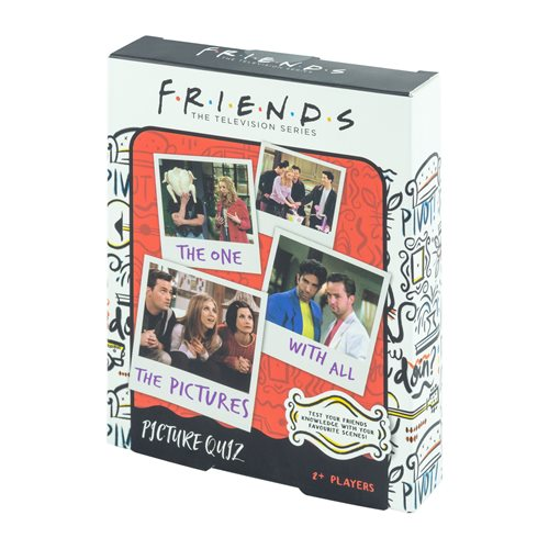 Friends Picture Quiz Game