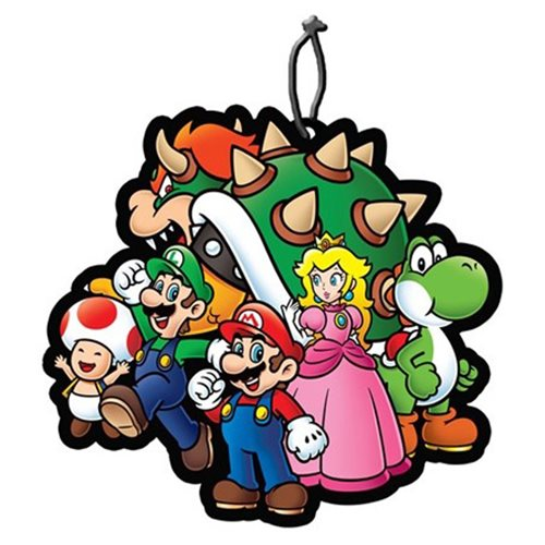 Super Mario Bros. Bowser and Group Air Freshener