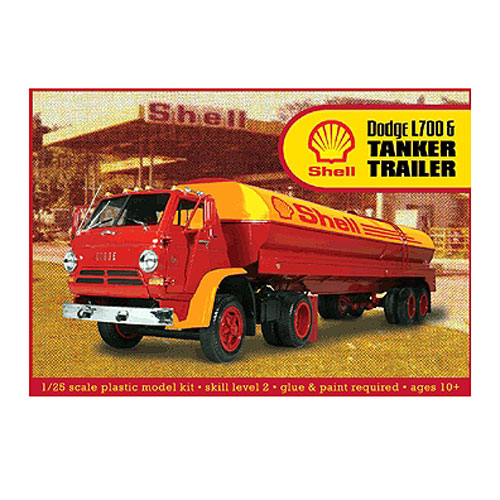 Dodge L700 with Shell Tanker Model Kit