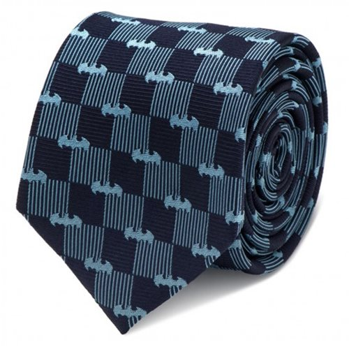 Batman Navy Italian Silk Tie
