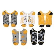 Harry Potter Hufflepuff Ankle Sock 5-Pack