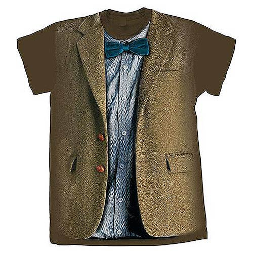 Doctor Who 11th Doctor Blue Costume T-Shirt