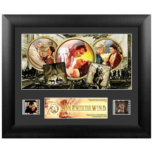 Gone with the Wind 75th Anniversary Series 1 Single Film Cell