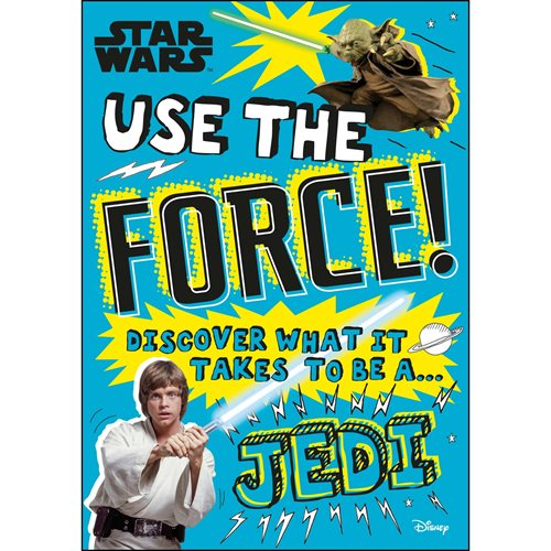 Star Wars Use the Force! Discover What It Takes To Be A Jedi Paperback Book