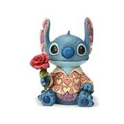 Disney Traditions Lilo & Stitch Stitch Valentine Clueless Casanova Statue by Jim Shore