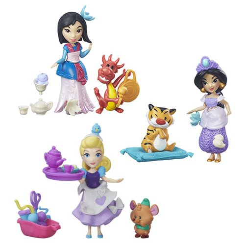 Disney Princess Small Dolls with Friends Wave 2 Set