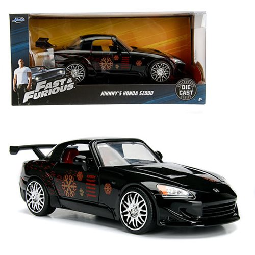 Fast and the Furious Johnny's Honda S2000 1:24 Scale Die-Cast Metal Vehicle