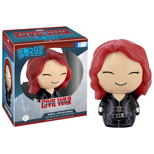Captain America: Civil War Black Widow Dorbz Vinyl Figure