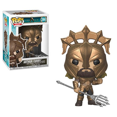 Aquaman Arthur Curry as Gladiator Pop! Vinyl Figure #244
