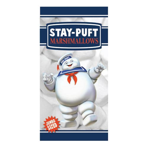 Ghostbusters Stay Puft Cotton Towel