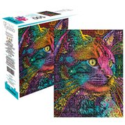 Dean Russo Cat 500-Piece Puzzle