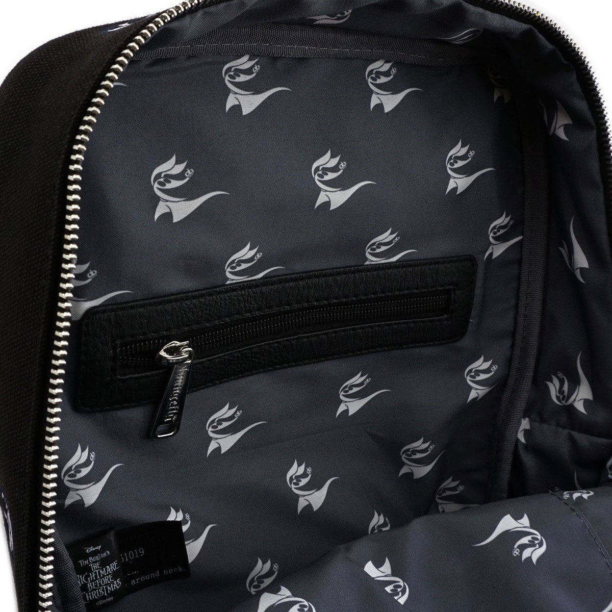 New Bioworld Disney Tim Burton Nightmare Before Christmas Jack Sally Backpack