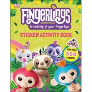 Fingerlings Sticker Activity Book Paperback Book